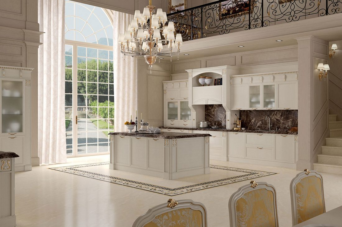classic kitchen render